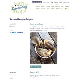 Ecolosophy Blog