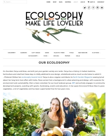 Ecolosophy Web Refresh - About Us page