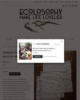 Ecolosophy Web Refresh - Product pop up