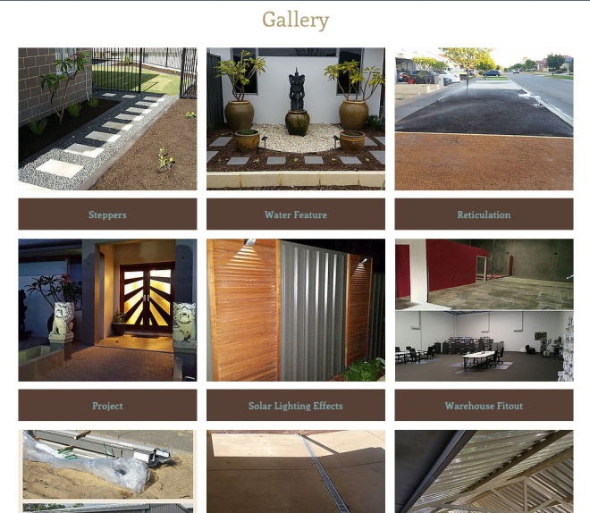 Gallery page for Perfect Home Solutions